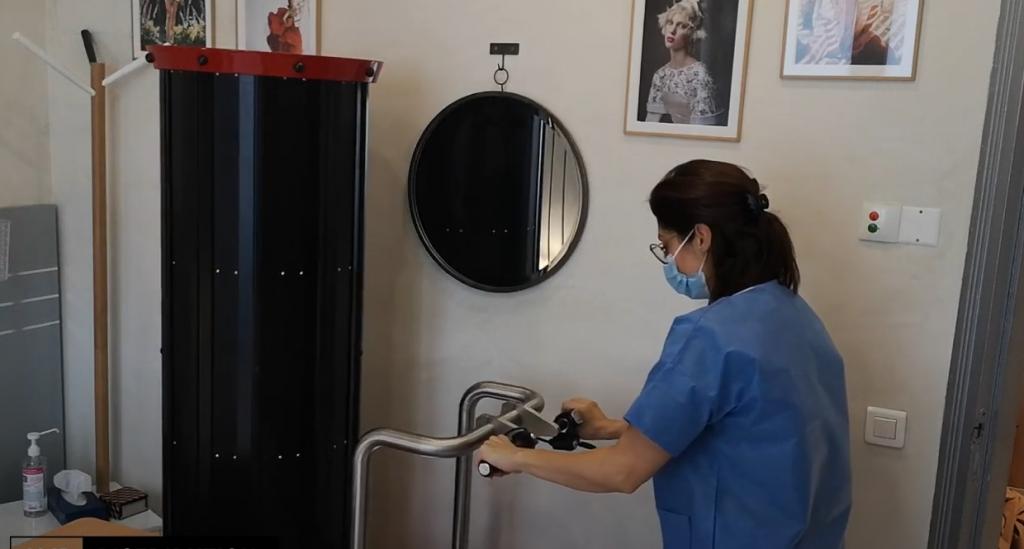 Ladybug 100 UVC UV decontamination robot